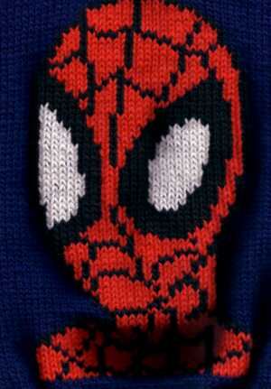 Free Spiderman Knitting Patterns : Spiderman
